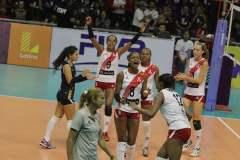 Perú fue más que República Dominicana, rival que enfrentará nuevamente mañana por la definición del título.
