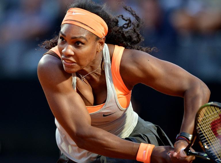 Serena Williams busca su cuarta corona en Roma, la tercera de forma consecutiva.