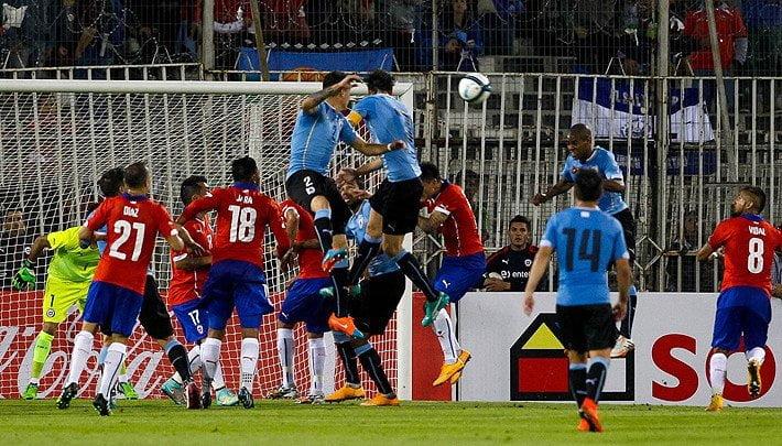 Chile derrota 1-0 a Uruguay y está en semifinales de la Copa América