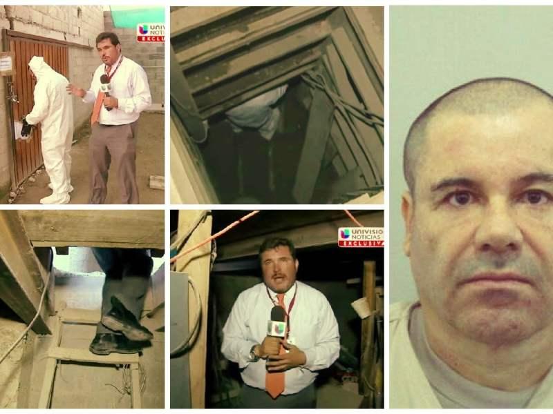 Chapo Guzmán: TV recorre túnel por donde se fugó el narco