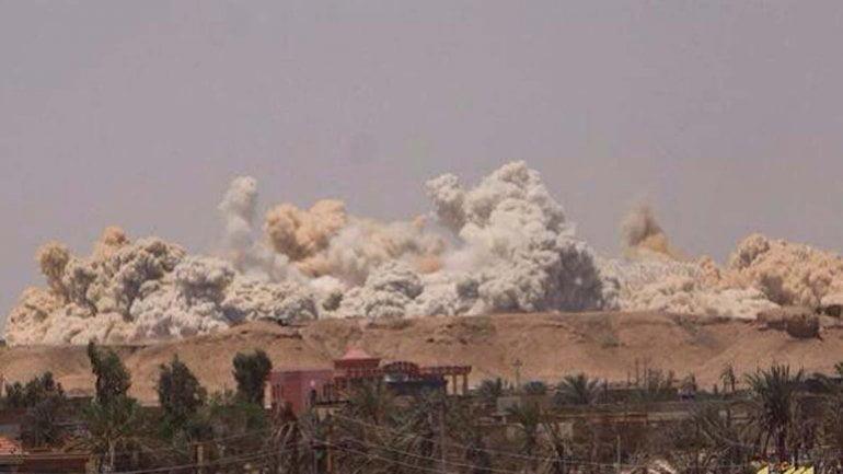 Impactante: El Estado islámico dinamitó estadio olímpico de Ramadi