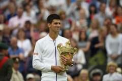 Novak Djokovic impuso su supremacía en Wimbledon.