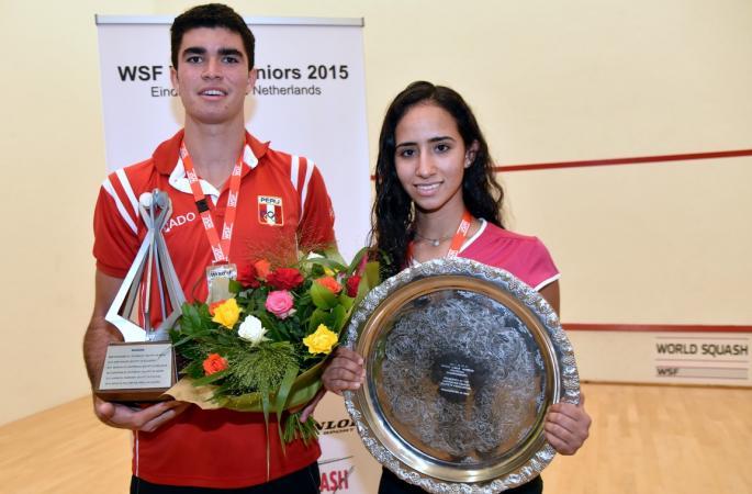 Diego Elías hizo historia en el deporte del Squash.