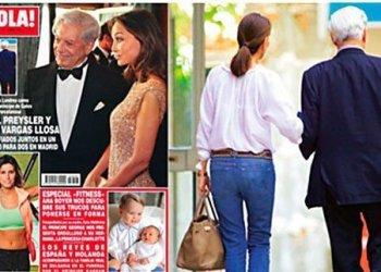 Mario Vargas Llosa: Su hijo dice que relación con Isabel Preysler nace de una infidelidad