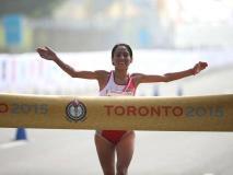 Gladys Tejeda ha hecho historia en los Juegos Panamericanos de Toronto.