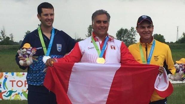 Francisco Boza entró en la historia de los Juegos Panamericanos.