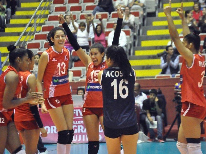 Perú sacó adelante un partido difícil ante las cubanas.
