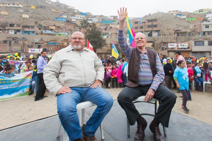 Carlos Bruce y Pedro Pablo Kuczynski