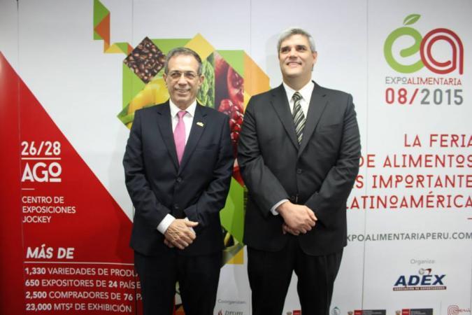 Adex catalogó a la Feria Expoalimentaria como el certamen de alimentos más importante de la región.