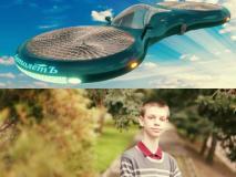 El automóvil volador es creación de este niño ruso