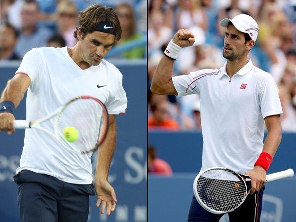 En Cincinnati, Federer va por el séptimo y Djokovic por el primer título.