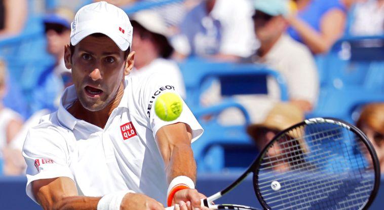 Djokovic dio un paso importante en su camino por  jugat la final de Cincinnati.