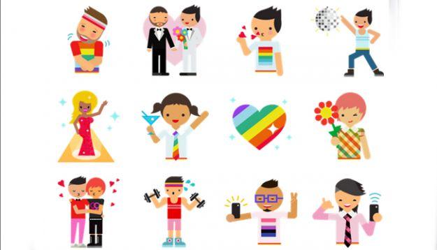 Rusia amenaza con prohibir emoticones gays