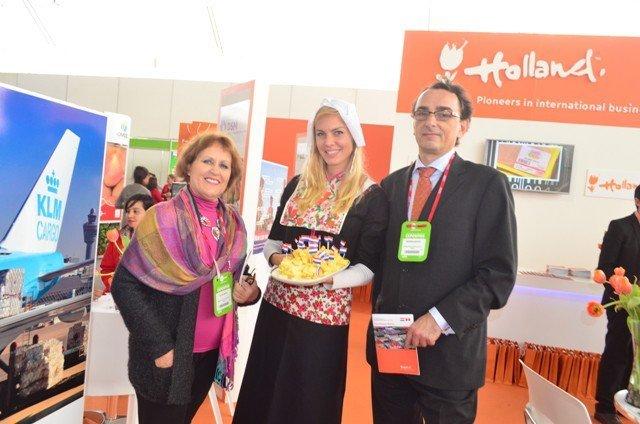 Varias empresas holandesas podrían participar en la Expoalimentaria 2015.