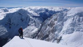 Montañistas ecuatorianos perdidos en nevado Huascarán