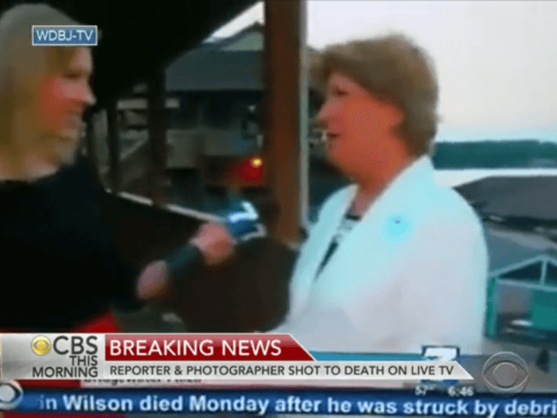 Impactante: periodista y camarógrafo asesinados durante transmisión en vivo