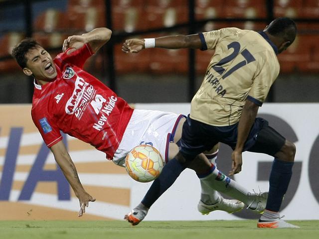 Unión Comercio tropezó en Lima  ante su rival colombiano.