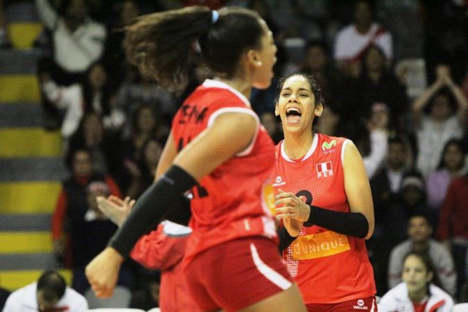 Las menores de Perú celebraron su segundo triunfo en el Mundial Sub 18.