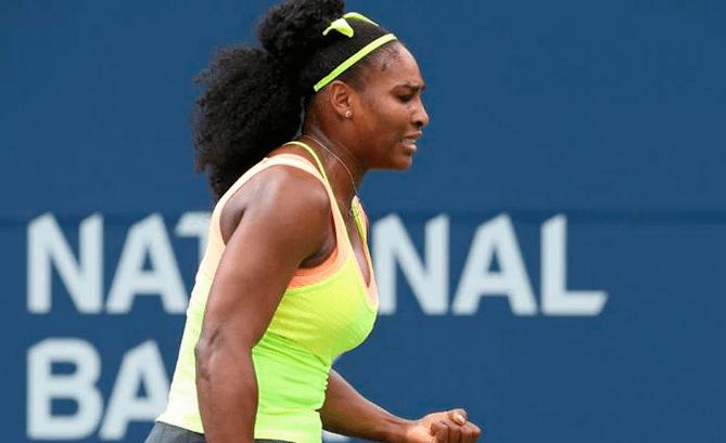 Serena Williams fue letal ante su segunda rival de Cincinnati.