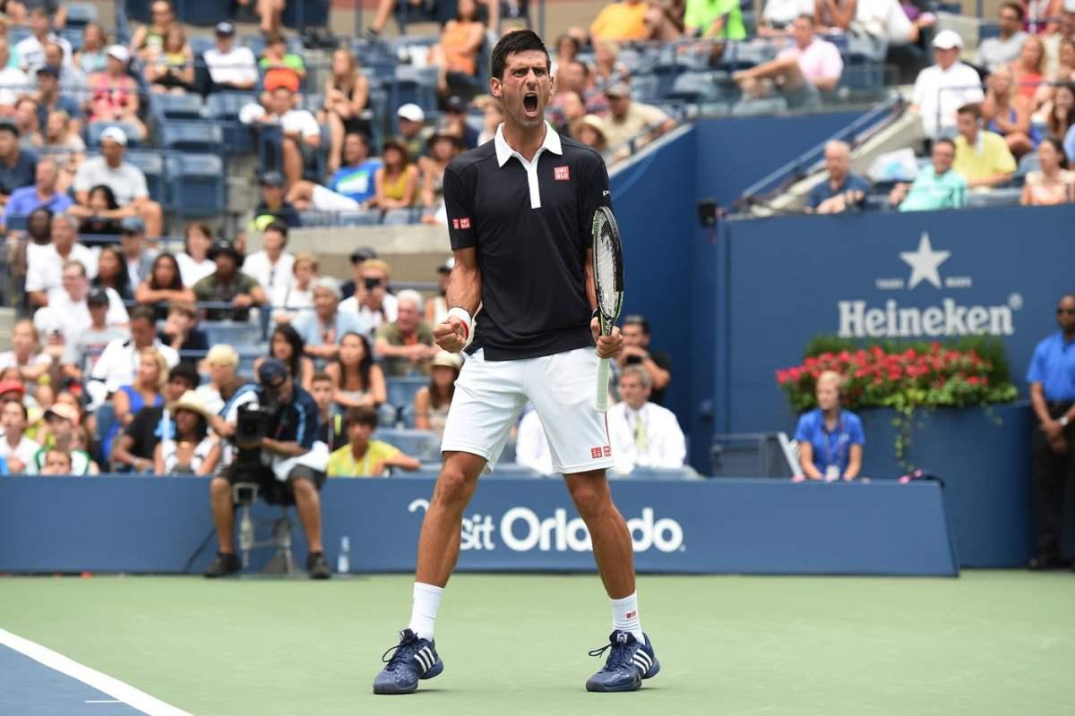 Djokovic no ha perdido set alguno en el US Open 2015.