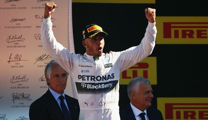 El británico Hamilton domina con amplitud el campeonato de la F1.