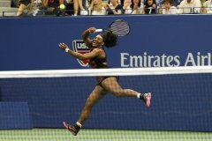 Serena Williams fue más precisa que su hermana Venus.