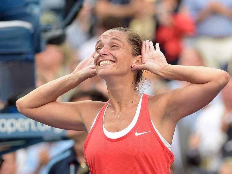 Vinci silenció el Arthur Ashe Stadium de Nueva York tras eliminar a Serena Williams.