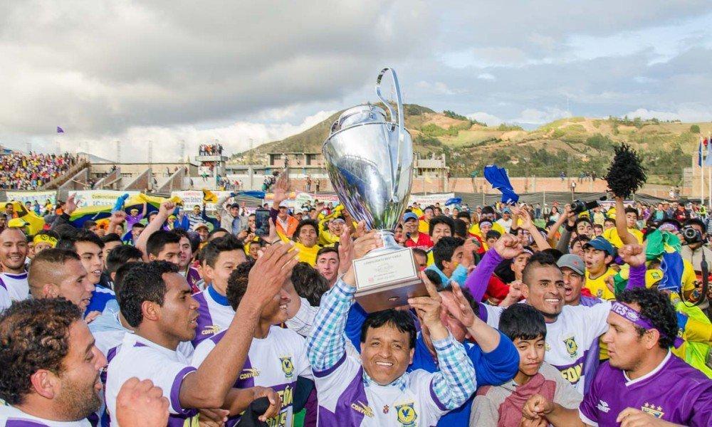 Comerciantes Unidos de Cutervo jugará a partir del próximo año en la primera división del fútbol profesional.