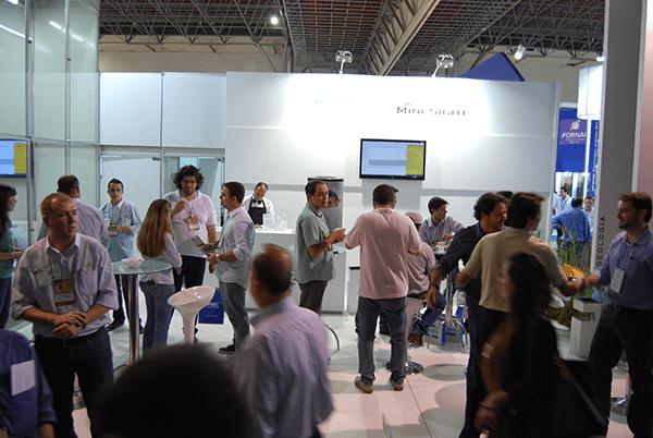 Empresas nacionales del sector industrial se dieron cita en importante evento brasileño.