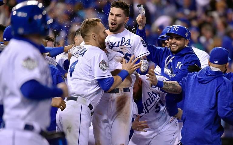 Gran victoria de los Royals de Kansas City en el inicio de la Serie Mundial.
