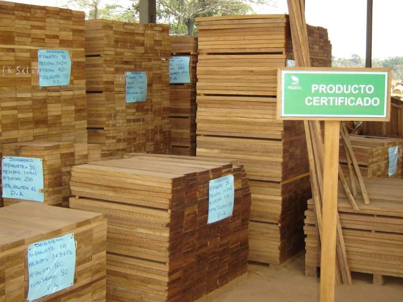 El 40% de envíos de madera peruana al exterior fueron realizados por empresas que cuentan con la certificación forestal o están en proceso de obtención.