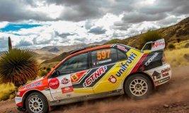 El campeón vigente José Tommasini fue el mejor en  la jornada inicial de Los Caminos del Inca 2015.
