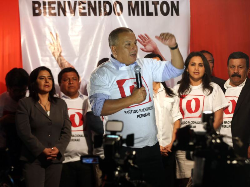 Milton von Hesse promete campaña sin ataques y con propuestas