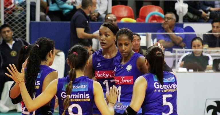 Géminis alcanzó la punta de Liga peruana de vóleibol.