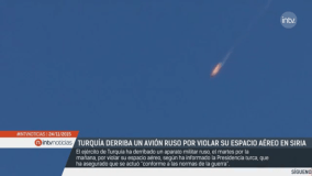 Avión Ruso fue derribado por Turquía en frontera con Siria (Video)