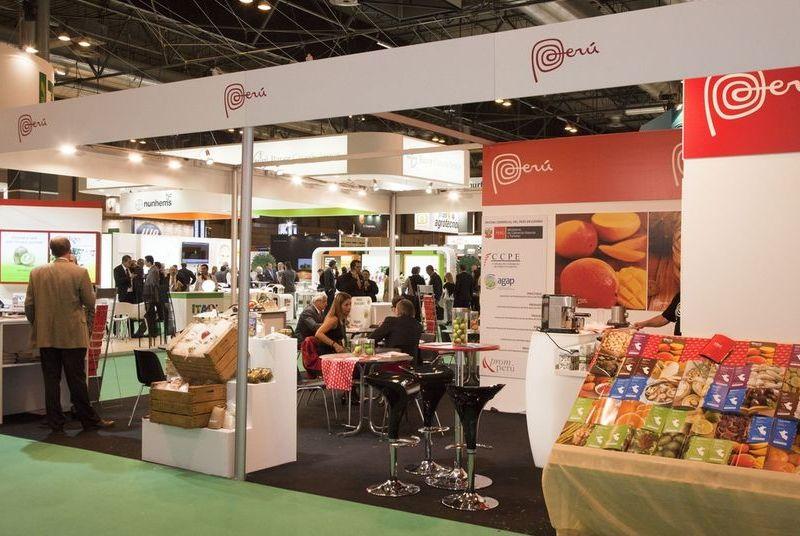 Productos peruanos  fueron presentados con éxito en evento español.