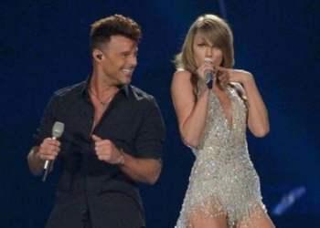Ricky Martin y Taylor Swift
