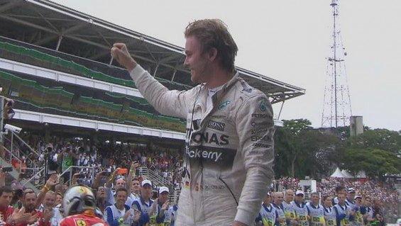 Rosberg se llevó la prueba de Brasil desde principio a fin.