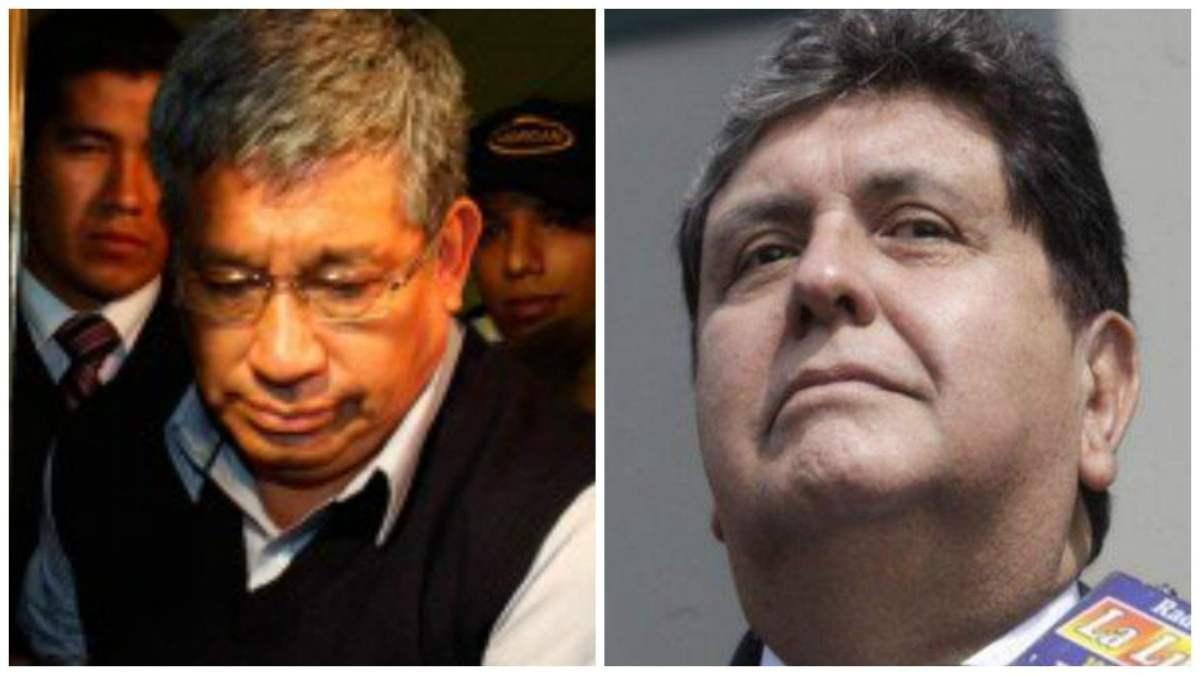 Alan García y Facundo Chinguel