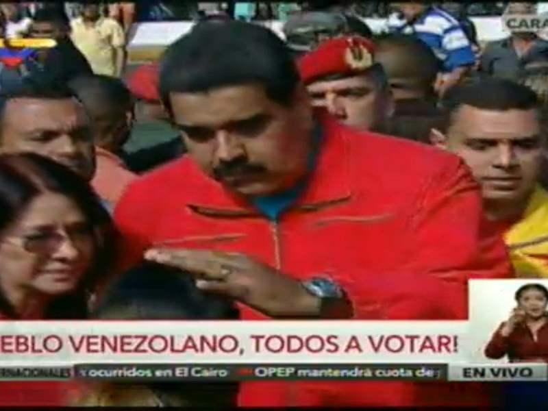 Canales chavistas en abierta propaganda por Nicolás Maduro (VIDEO)