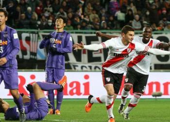 Alario marcó el gol que instala a River en la final del Mundial de Clubes.