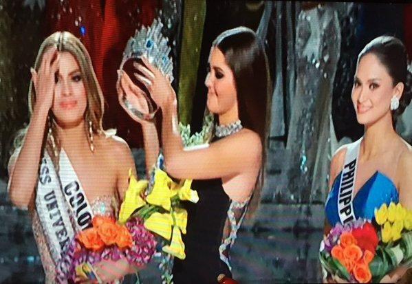 Miss Universo 2015 pasará a la historia por un error cometido por Steve Harvey
