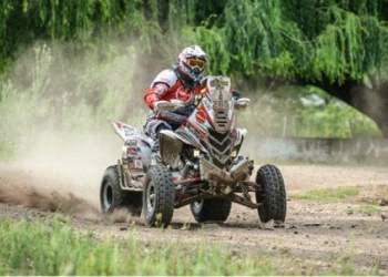 Alexis Hernández volvió a hacer historia en el Dakar a bordo de su cuatrimoto Yamaha 265.