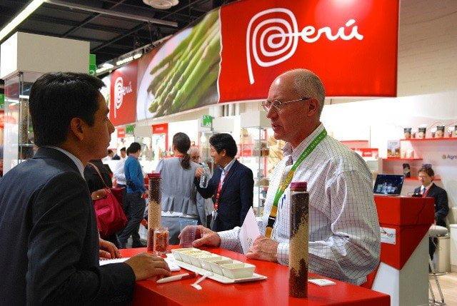En el 2015, se incrementaron las exportaciones peruanas y el número de citas de negocios concretado por las empresas peruanas en los eventos comerciales.