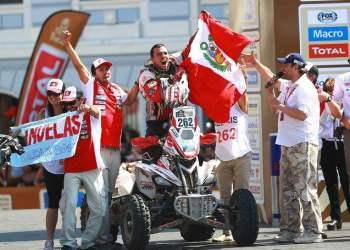 Alexis Hernández hizo historia tras ganar etapa en el Dakar 2016.