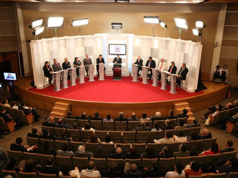 Debate presidencial en agenda