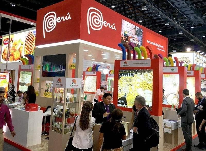 Empresas peruanas se presentaron en importante feria de Dubái.