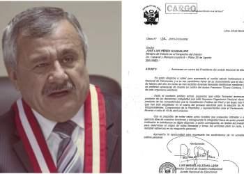 Amenazan de muerte a presidente del JNE Francisco Távara