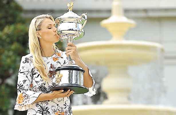 Kerber se proclamó campeona en Melbourne y se adueñó de la posición del ranking WTA.
