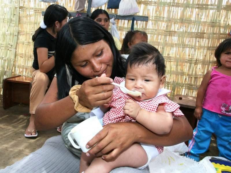 Minsa: bebés reciben micronutrientes contra anemia